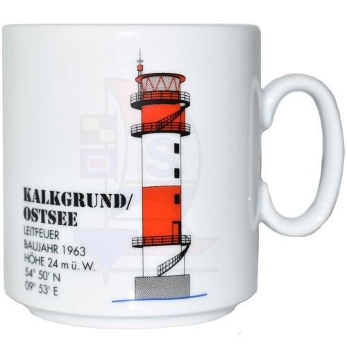Leuchtturmtasse Kalkgrund / Ostsee