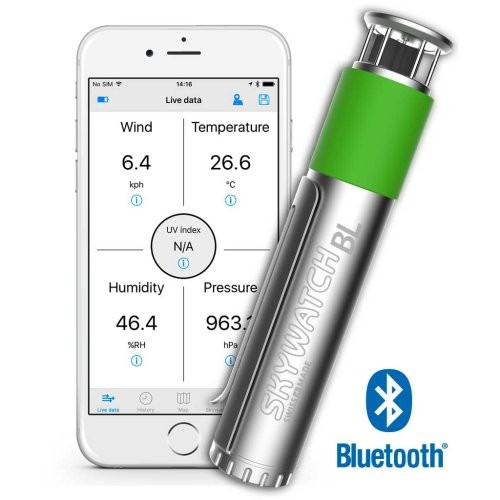 Skywatch BL 400 Bluetooth® Wetterstation