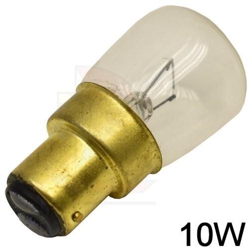 Glühlampe BA15d 12V / 10W birnenform