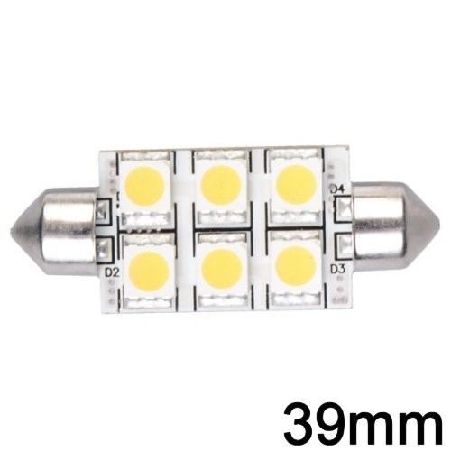 LED Soffitte 39mm (6 LED)