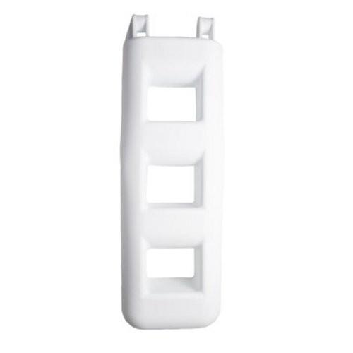 Treppenfender 3 Stufen weiß