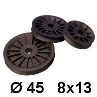 Selden Fallscheibe 45er 8x13mm 504-320