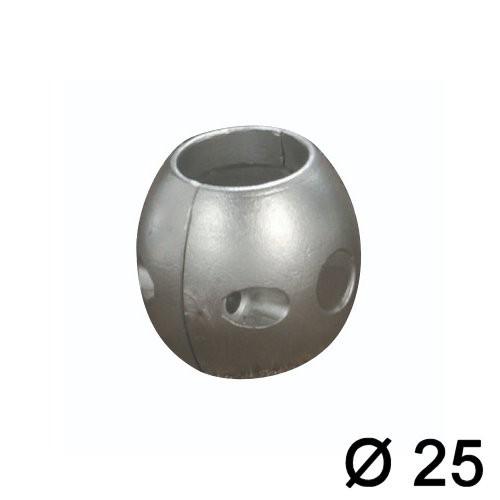 Wellenanode Magnesium Eiform 25mm
