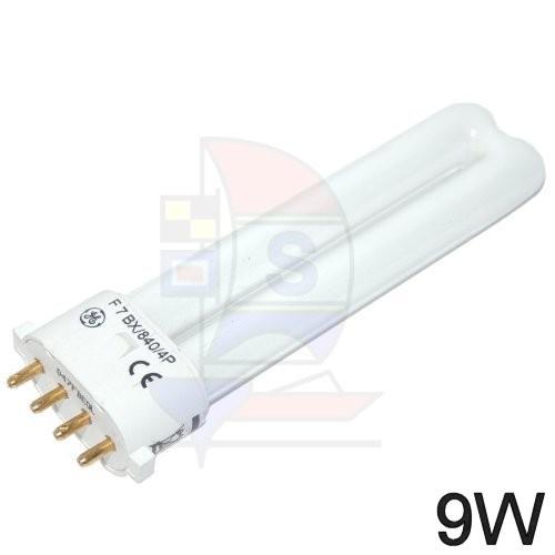 Kompaktleuchtstofflampe Sockel 2 G7,  4Pin,  9W