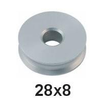 Holt Allen Seilscheibe Aluminium 28 x 8 HA 84