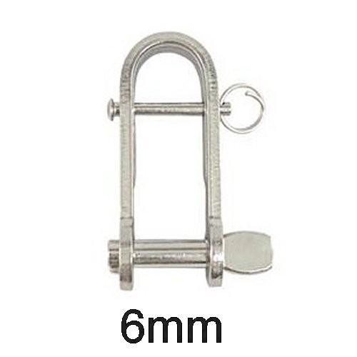 Schäkel Schlüssel Steg 6mm