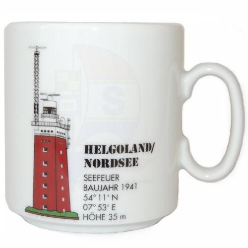 Leuchtturmtasse Helgoland / Nordsee