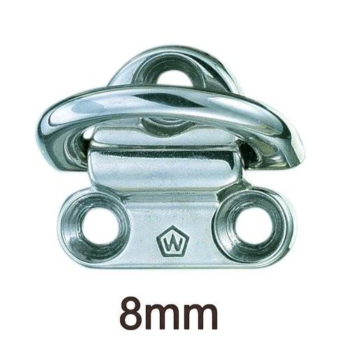 Wichard klappbare 8mm Decksaugen