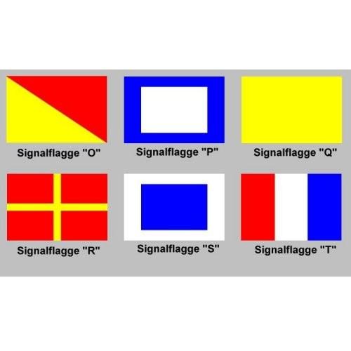 Signalflagge 30 einzeln O - T