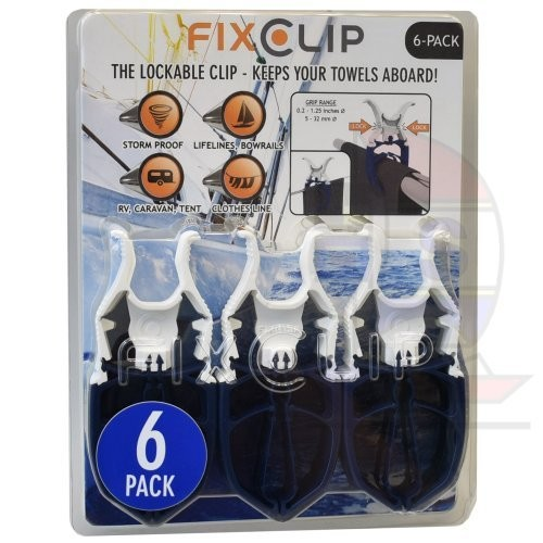 FixClip Wäscheklammern 6 Stück