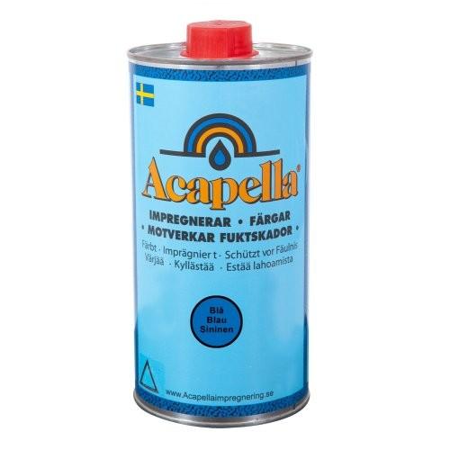 Acapella Imprägnierer 1 Ltr. blau