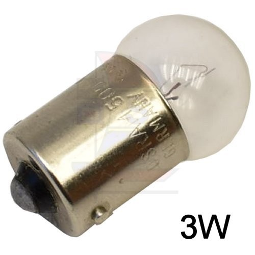 Glühlampe BA 15s 3W