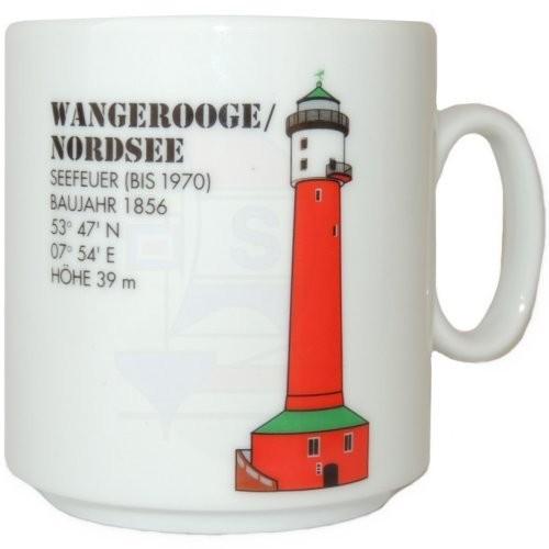Leuchtturmtasse Wangerooge / Nordsee