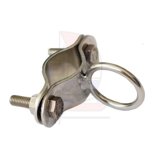 Prasolux Rohrschelle mit Ring 25mm