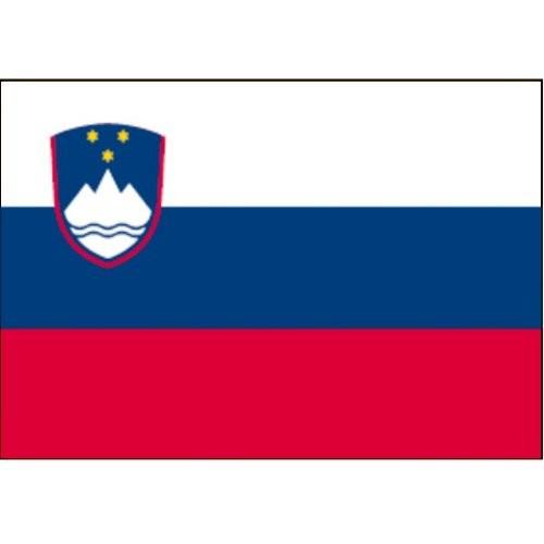 Flagge Gastland Slowenien