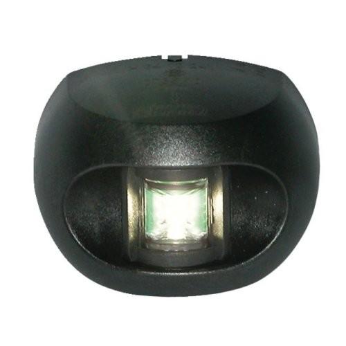 Aqua Signal Serie 34 Hecklaterne LED schwarzes Gehäuse