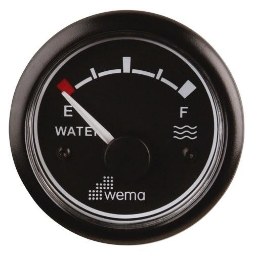 Tankanzeige WEMA Wasser