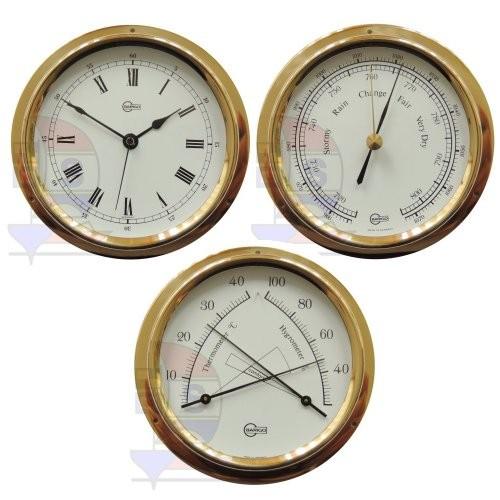 Barigo Regatta 3-er Set Quarzuhr + Barometer + Comfortmeter