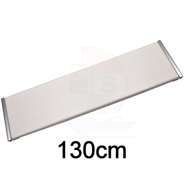 GFK Sitzbrett 130cm Typ Keder Aluminium