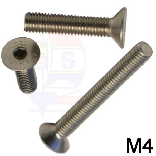 Senkkopfschraube M4 (DIN 7991)