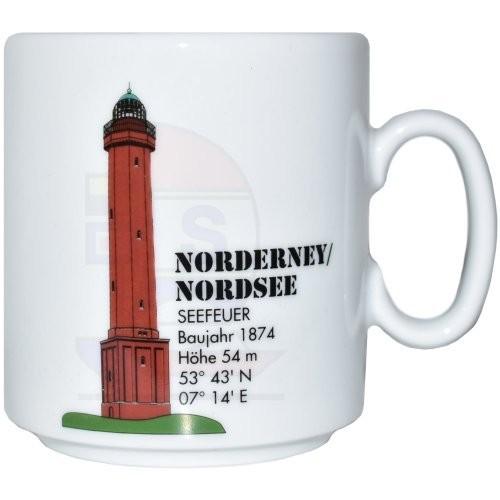 Leuchtturmtasse Norderney / Nordsee