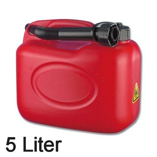 Benzinkanister rot 5 Ltr.