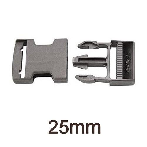 Steckschnalle Kunststoff 25mm