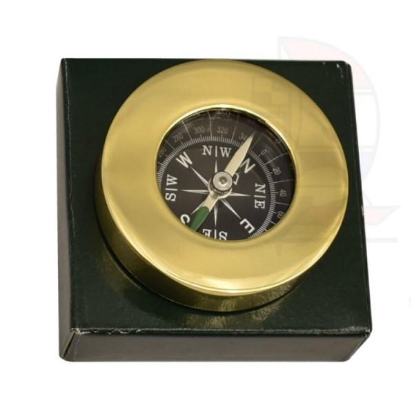 Kompass Messing 50mm Briefbeschwerer