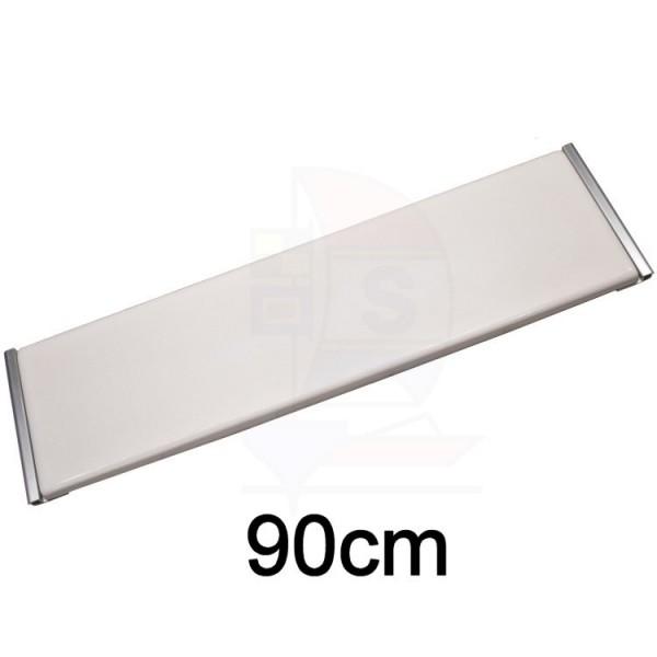 GFK Sitzbrett 90cm Typ Keder Aluminium