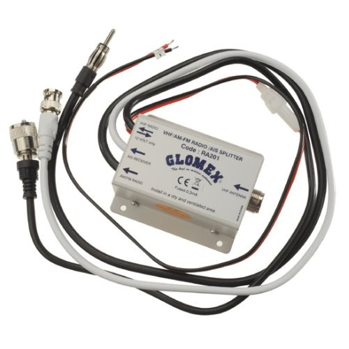 Glomex Antennenverteiler UKW-Seefunk / Radio RA 201