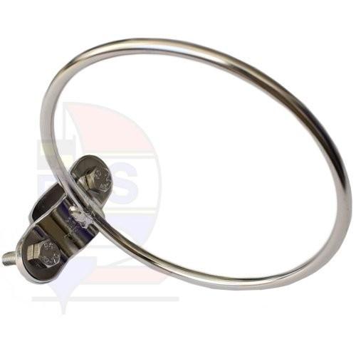 Prasolux Rohrschelle mit Ring 100mm