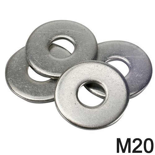 Unterlegscheibe niro M20 DIN 9021