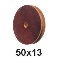 Seilscheibe Tufnol 50 x 13