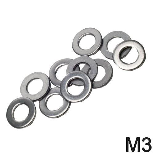 Unterlegscheibe niro M3 DIN 125