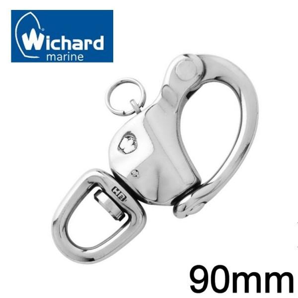 Wichard Schnappschäkel mit Wirbel 90mm