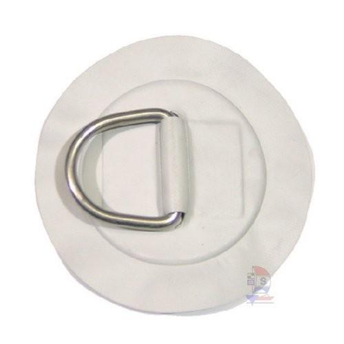 Rundpad Grau mit D-Ring 50