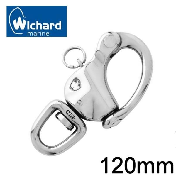 Wichard Schnappschäkel mit Wirbel 120mm