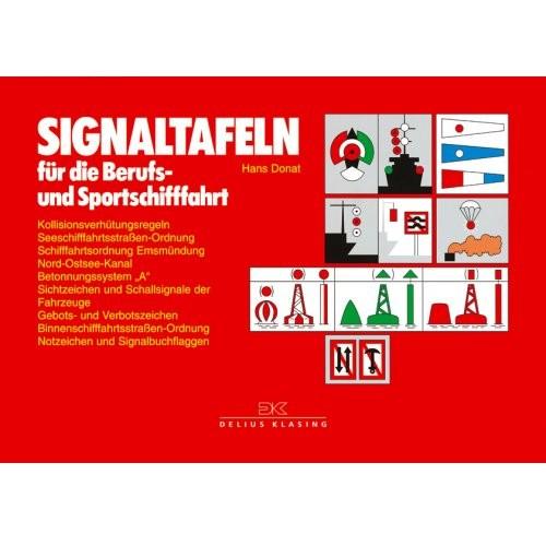 Signaltafeln für die Berufs- und Sportschifffahrt / Donat