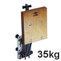 Motorhalter 35kg Alu/Holz