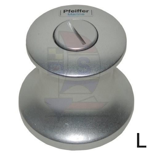 Durchholwinde 55mm Pfeiffer Aluminium links