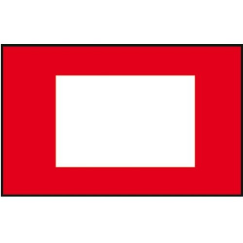 Signalflagge 30 Schleppflagge