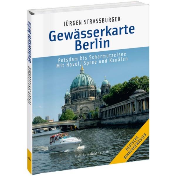 Gewässerkarte Berlin / Strassburger