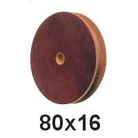 Seilscheibe Tufnol 80 x 16