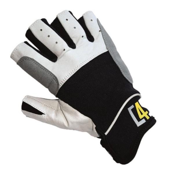 C4S Segelhandschuhe schwarz