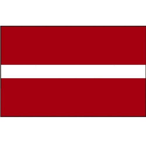 Flagge Gastland Lettland