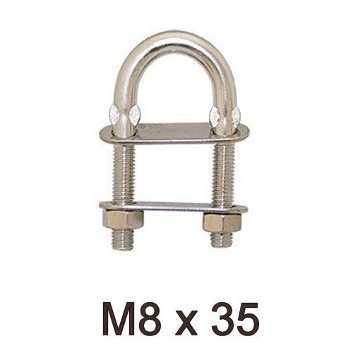 U-Bolzen M8 x 35