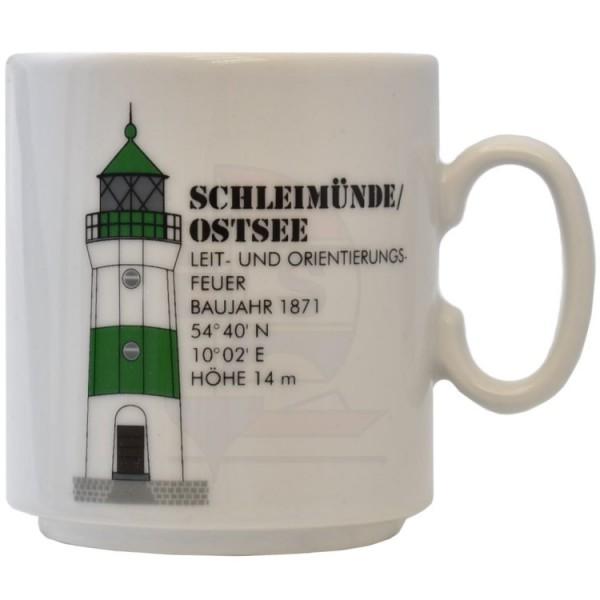 Leuchtturmtasse Schleimünde / Ostsee ab 2015
