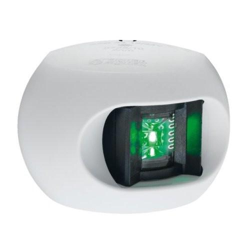 Aqua Signal Serie 34 Steuerbordlaterne LED weißes Gehäuse