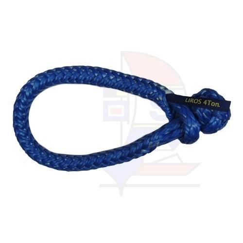 Liros XTR-Soft Schäkel 4t blau 16mm