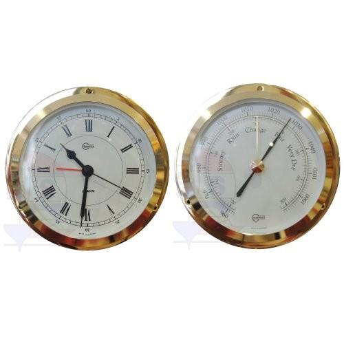 Barigo Star 2er-Set Quarzuhr + Barometer